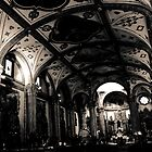 Church: Coyoacan Mexico by miramefotos