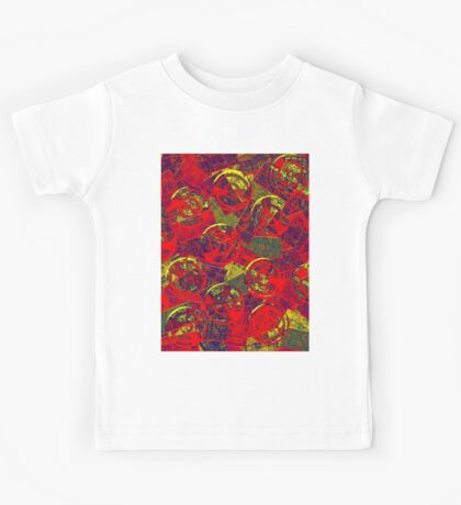 0258 Abstract Thought Kids Tee