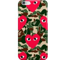 Comme Des Garcons x A Bathing Ape iPhone Case/Skin