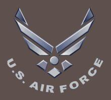 U.  S. Air Force Symbol for Dark Colors Baby Tee