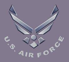 U.  S. Air Force Symbol for Dark Colors Kids Tee