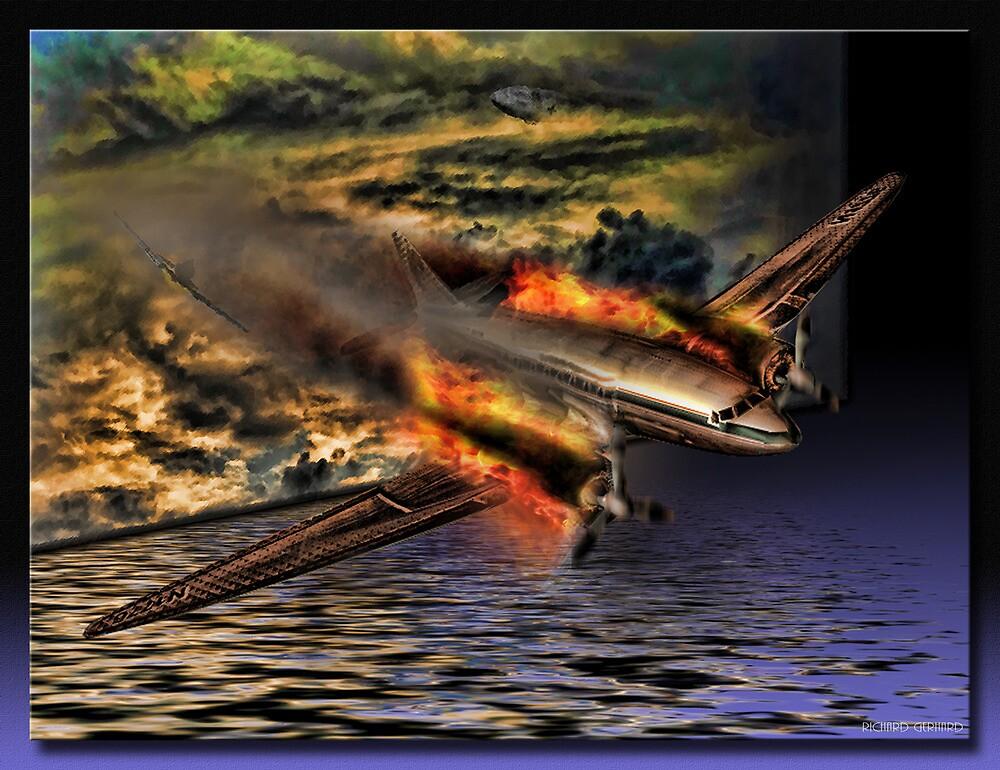 The Flight by Richard  Gerhard