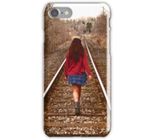Along The Rails iPhone Case/Skin