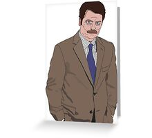 R. Swanson Drawing Greeting Card