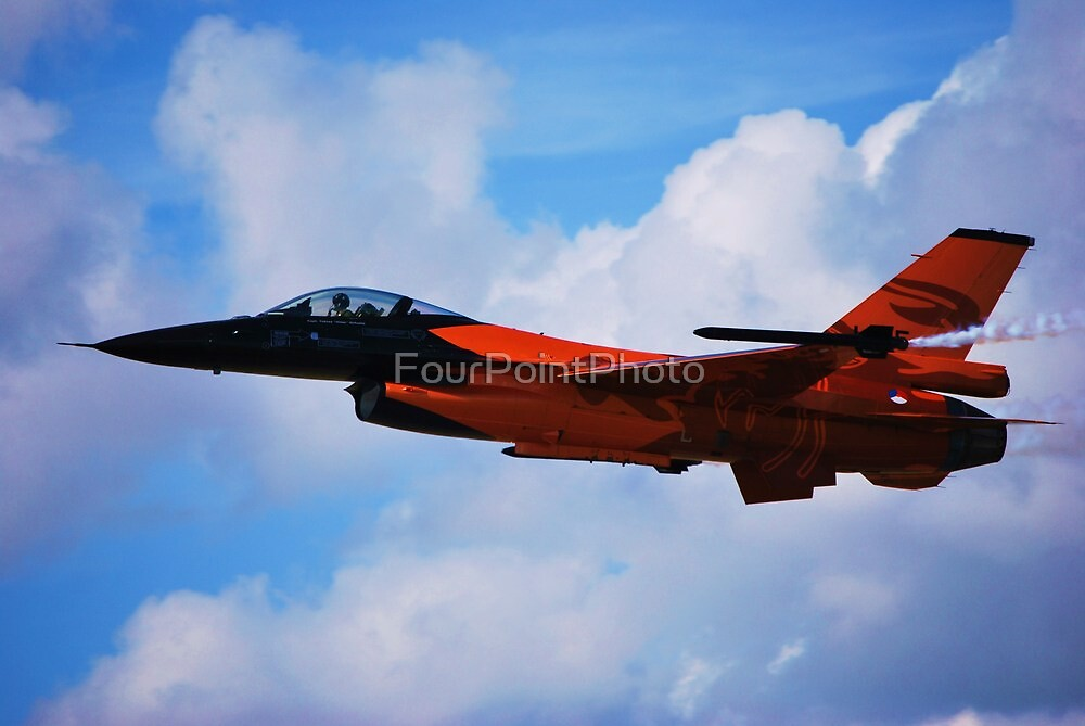 F-16 Falcon Fighter Jet by FourPointPhoto