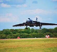 RAF Vulcan Bomber by FourPointPhoto