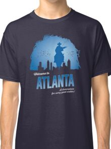 Welcome To Atlanta (blue) Classic T-Shirt