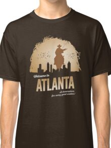Welcome To Atlanta (brown) Classic T-Shirt