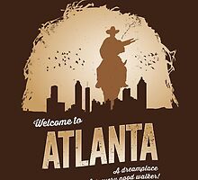 Welcome To Atlanta (brown) by sebisghosts