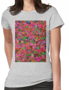 0299 Abstract Thought Womens Fitted T-Shirt