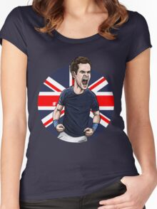 Team GB Women's Fitted Scoop T-Shirt