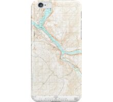 USGS Topo Map Washington State WA Starbuck West 244003 1981 24000 iPhone Case/Skin
