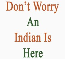 Don't Worry An Indian Is Here by supernova23