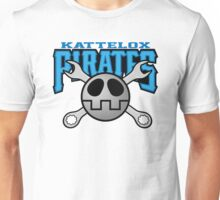 Kattelox Pirates - Volnutt Blue Unisex T-Shirt