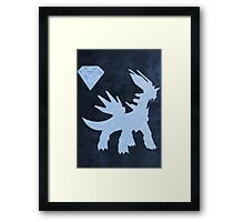 Diamond Version Framed Print