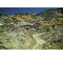 Coloured Hillside Photographic Print