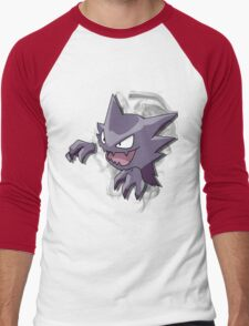 Haunter - Pokemon - Bigger Image Men's Baseball ¾ T-Shirt
