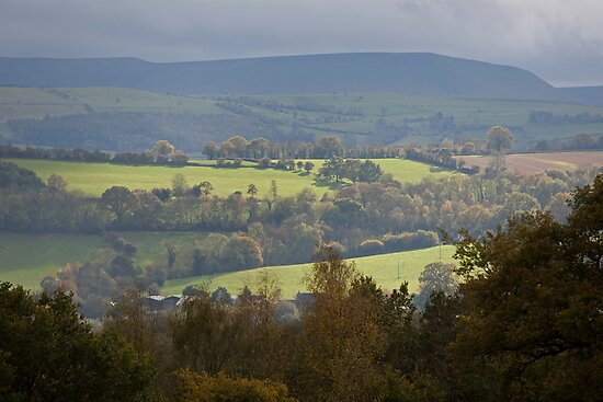 Herefordshire in Autumn by blueinfinity