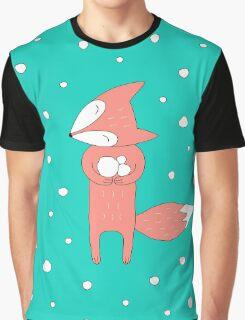 I Love Snow Graphic T-Shirt