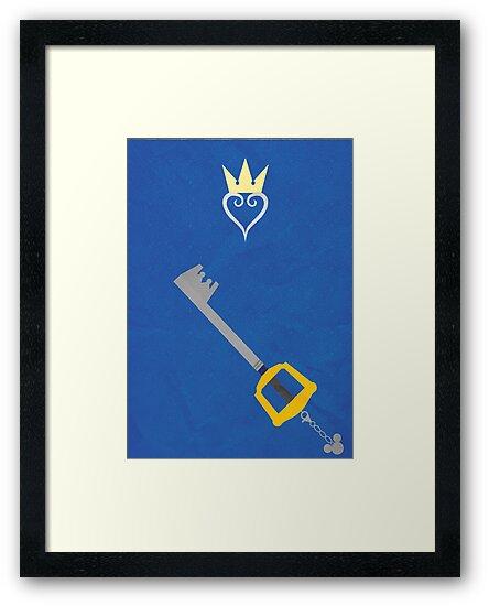 Kingdom Hearts by tylrclprt