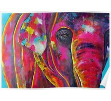 Elephant watches Poster