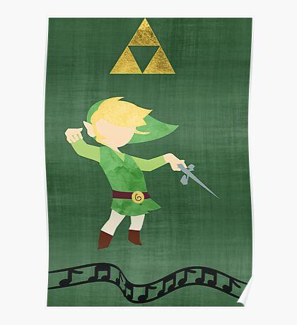 The Legend of Zelda : The Windwaker Poster