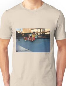 Jeff Phillips - skate for Fun Randol Mill Pool photo Unisex T-Shirt