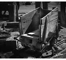 Little Ore Car Photographic Print