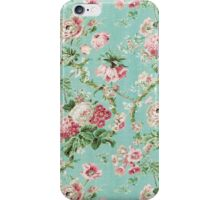 Vintage Floral Wallpaper iPhone Case/Skin
