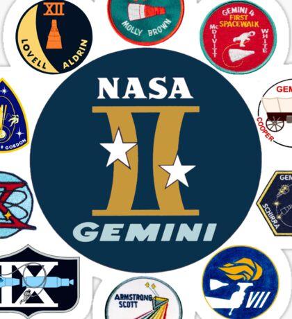 Gemini Program Composite Logo Sticker
