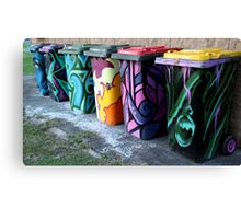Beautiful garbage Canvas Print