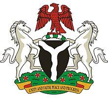 Coat of Arms of Nigeria  Photographic Print