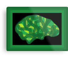 Veg Head (Think Green) Metal Print