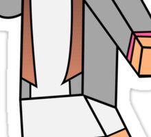 Minecraft character 04 Sticker