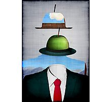 Tribute to René Magritte Photographic Print