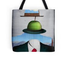 Tribute to René Magritte Tote Bag