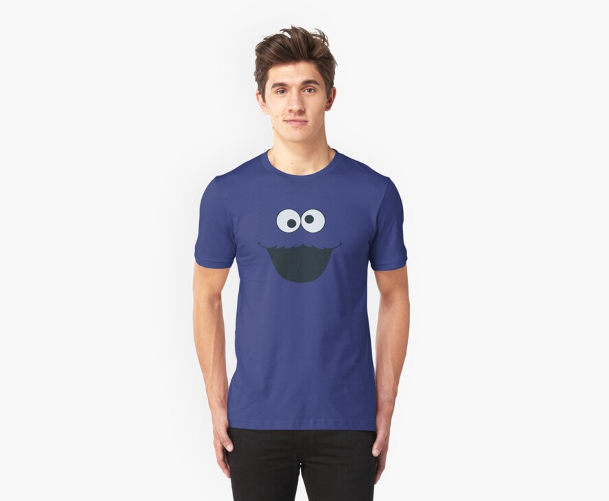 Cookie Monster by Shirt Boy