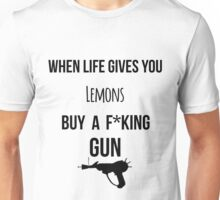 When life gives you lemons zombies 2 Unisex T-Shirt