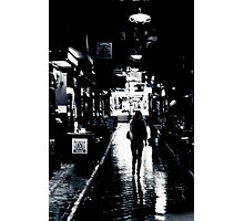 A walk in the Laneways of Melbourne Photographic Print