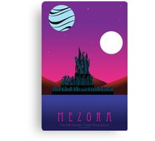 Planet Exploration: Mezora Canvas Print