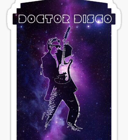 Doctor Disco! Sticker