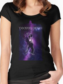 Doctor Disco! Women's Fitted Scoop T-Shirt