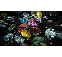 Glass Stones Photographic Print