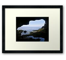 Anemone Cave, Acadia National Park, Maine Framed Print