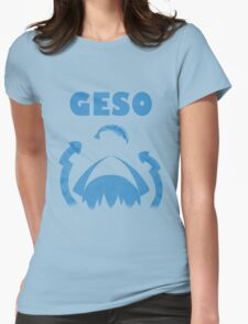 """GESO - """"Amity"""" Blue version  Womens Fitted T-Shirt"""