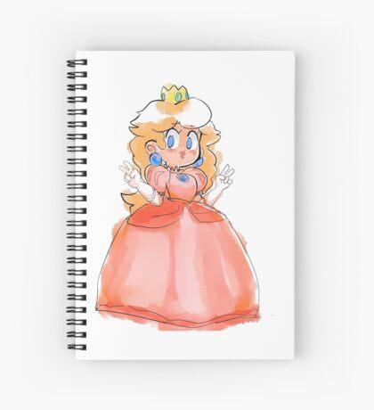 Peachy! Spiral Notebook