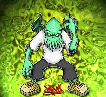 Hood Cthulhu by DocDroe