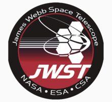 James Webb Space Telescope Component Logo Kids Tee