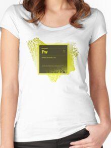Fire Works CS6 Splash Screen Women's Fitted Scoop T-Shirt