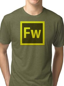 Fire Works CS6 Logo Tri-blend T-Shirt